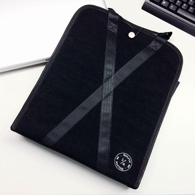 Source 高質感 三層 文件 提袋
