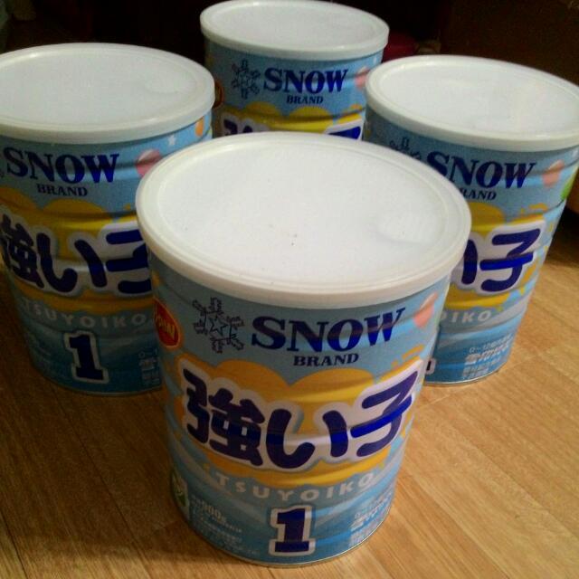 雪印奶粉0~12個月
