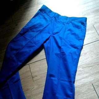 全新 Uniqlo 藍色長褲 91腰