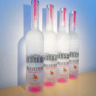 Belvedere - Pink Grapefruit
