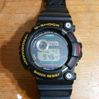 Casio Gshock Final Frogman