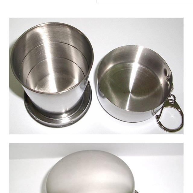 [全新] 收納 小鋼杯