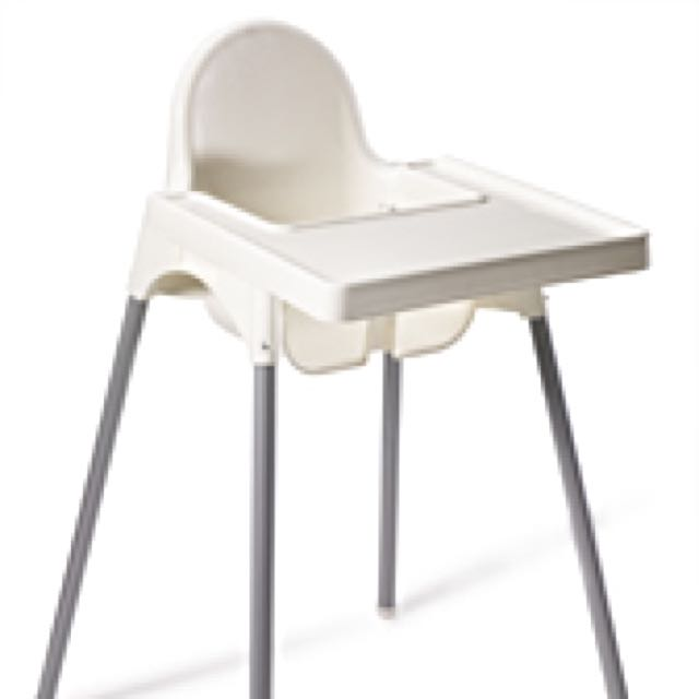 IKEA High chair With Tray