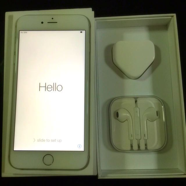 iPhone 6 plus Silver 64GB - New Replacement Set