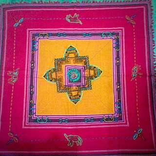 尼泊爾🙌手工桌布