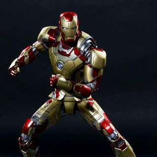 Reserve Hot Toys Iron man mark 42 Hottoys Ironman Diecast
