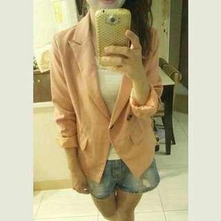 (全新)喜宴必穿之粉色系西裝外套