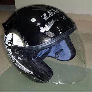 ZEUS Open Face Motorcycle Helmet