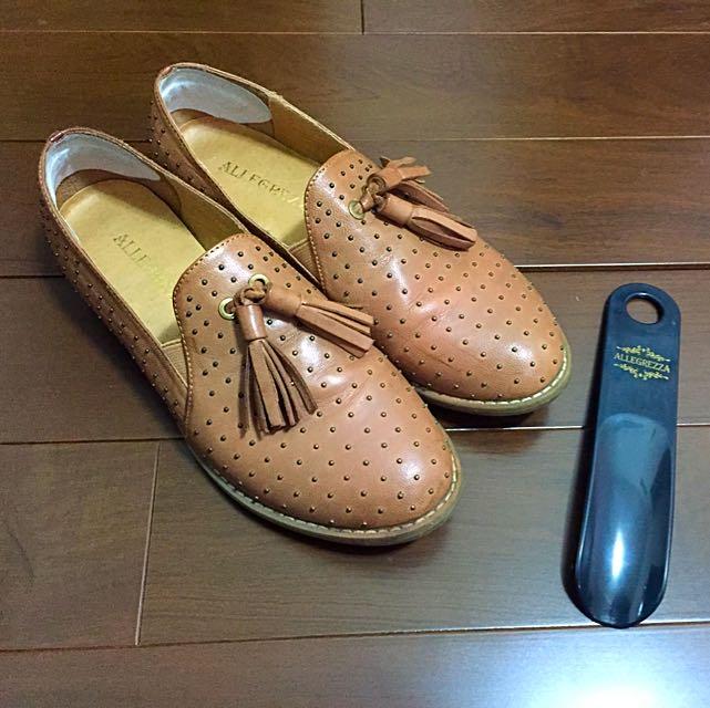 (降)卯釘樂福鞋 適用23.5號腳