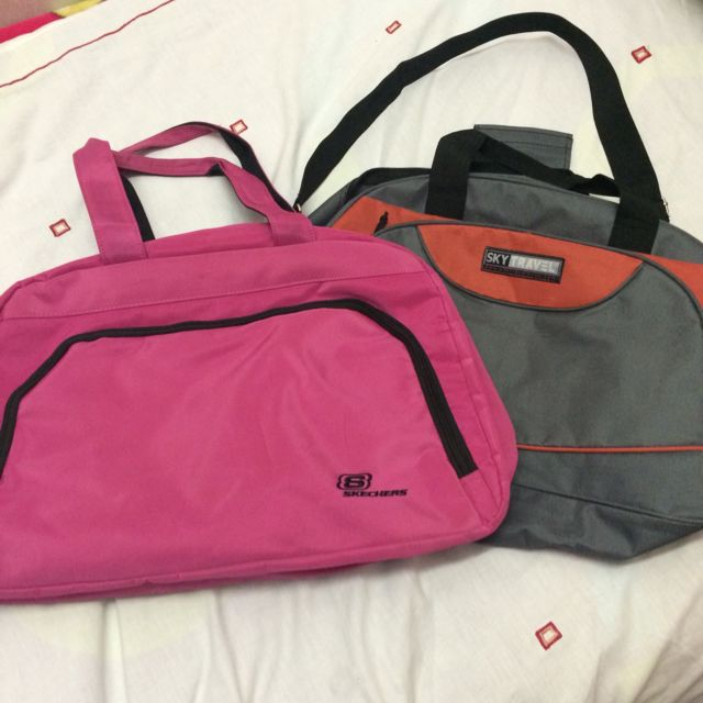 56754bf6c3a Hand Carry travelling Bags/ gym bag Skechers & Sky Travel ...