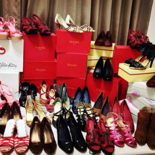 專櫃美鞋Miss Sofi, Sonia全面任選兩雙1,500