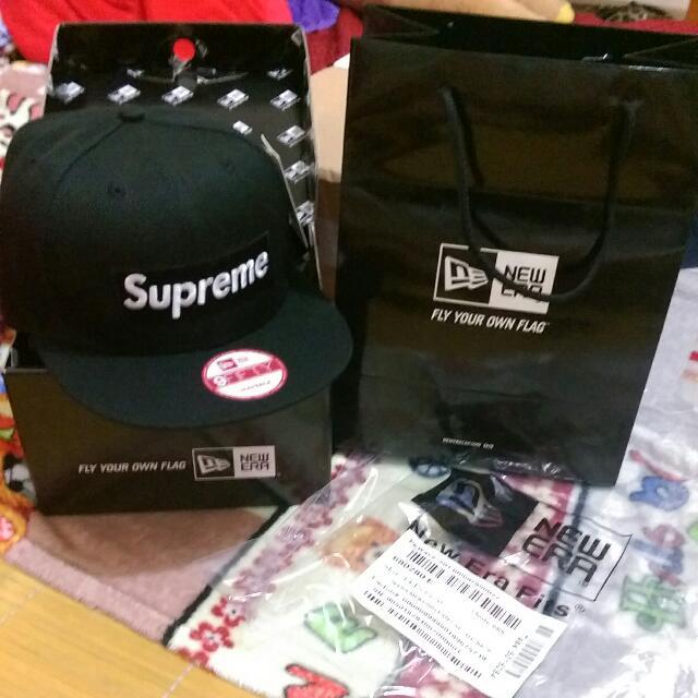 Supreme 基本款帽子