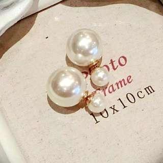 Mise En Dior Inspired Earrings (Reduced Price)