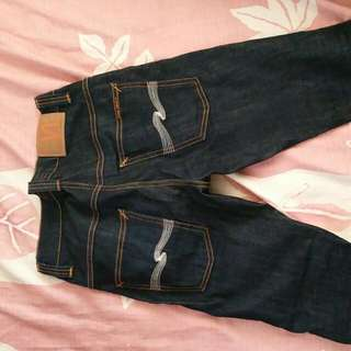 Nudie Jeans Thin Finn W27 Length Altered (Repost)