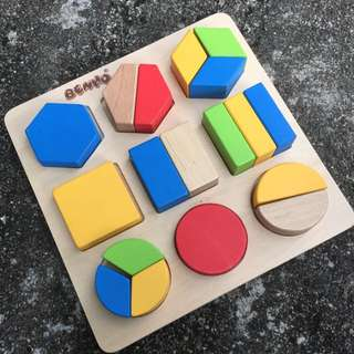 BENHO Wooden Shapes