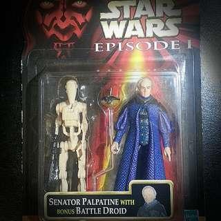 Star Wars: Senator Palpatine & Battle Droid