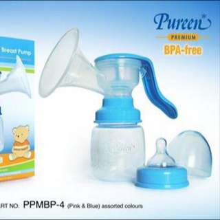 Manual Breast Pump (USED ONCE)