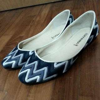 Pattern Flat Shoe
