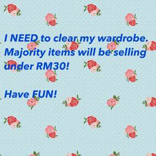 Clearance Price and Free Items