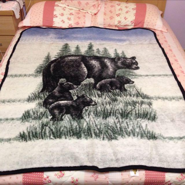 全新❗️大峽谷購入雙面毛毯