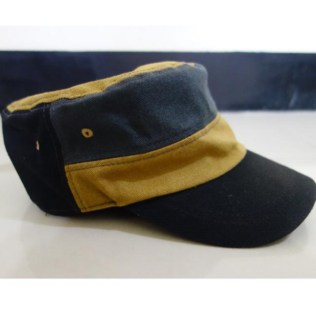 韓製 小帽 軍帽 100% 純棉 極少戴