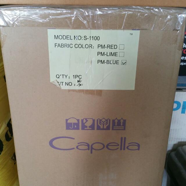 Brand new Capella Car Seat (Blue)reserve