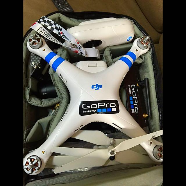 DJI Phantom 2 H3-2D (Gopro3/4) with FPV