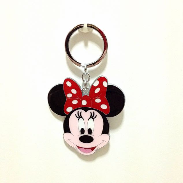 Minnie Mouse Keychain 28009ed75