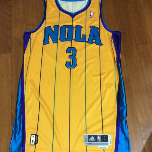 New Orleans Hornets Adidas Revolution 30 - Authentic NBA Jersey (not ... f0c95239e