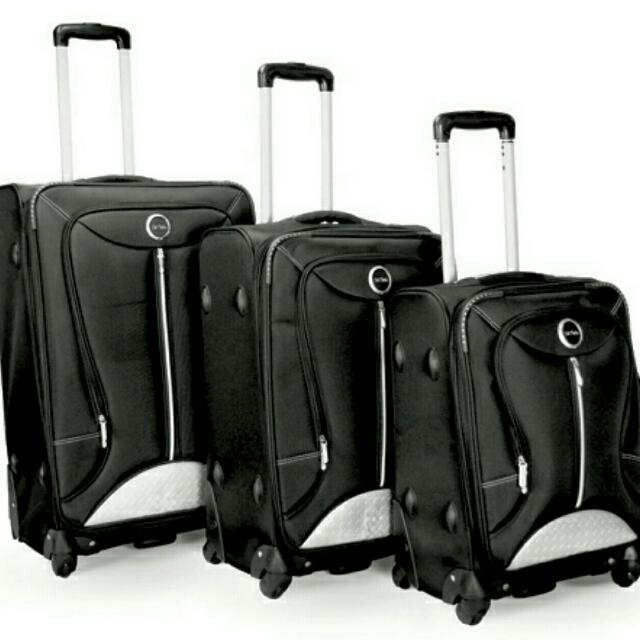 29cd6fd7f 3 In 1 PREMIUM BAG BOB MACKIE EXPANDABLE LUGGAGE SET (Price Reduced ...
