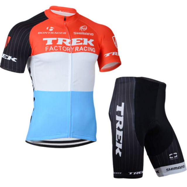 Trek Factory Racing Cycling Jersey Set 16e1aa191