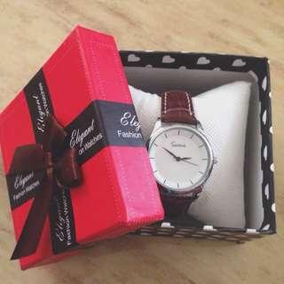 [清倉特價]韓國妹 氣質 手錶 皮革 現貨