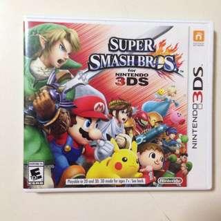 Super Smash Bros 3ds
