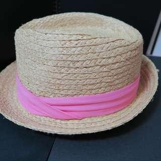 草帽-粉色