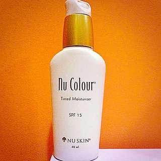 Nu skin 如新 保濕潤色粉底乳SPF15 溫柔粉膚色