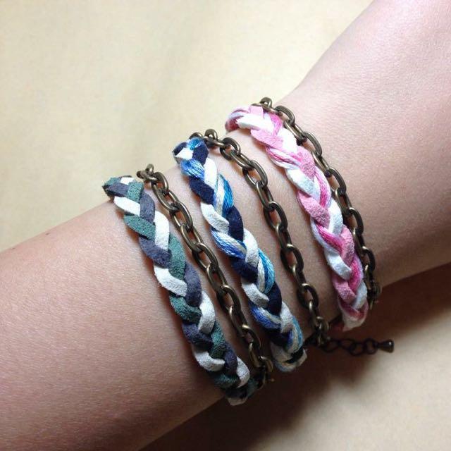 編織手環(加鍊款)