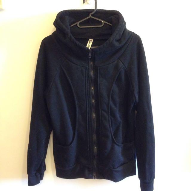 黑色運動外套