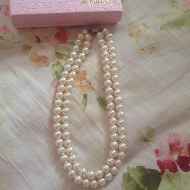 高雅的珍珠項鍊