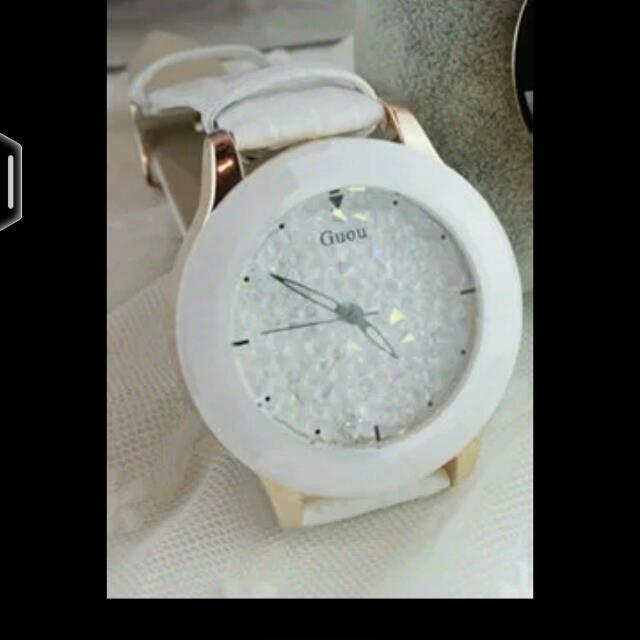 韓國時尚水晶鑽女錶