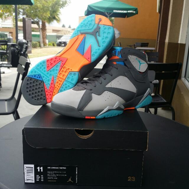 Air Jordan Retro 7 Bobcats Size 11