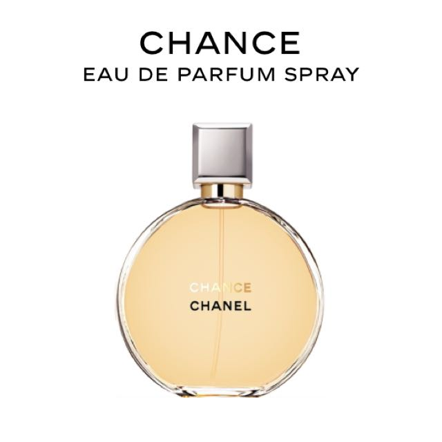 Chanel Chance Eau De Parfum 50ml Health Beauty On Carousell