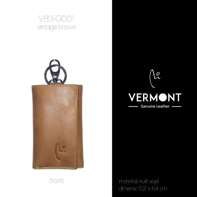 Dompet Kulit VERMONT V83-G001 Vintage Brown