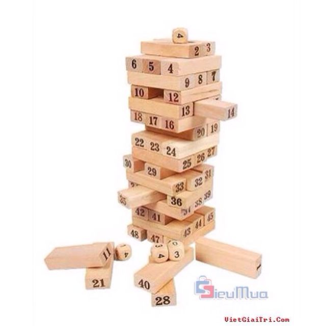Jenga Wooden Blocks