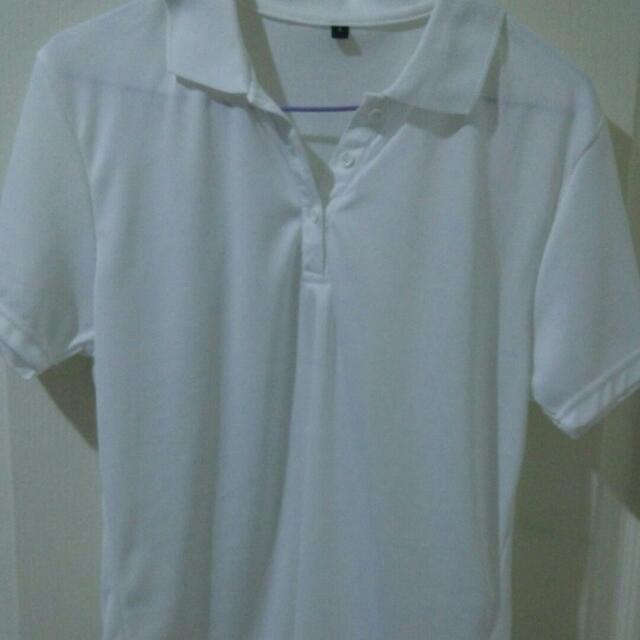 純白POLO T恤