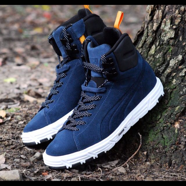 buy popular 1040c 7eafe PUMA Future Suede Lite Boot, Men's Fashion on Carousell