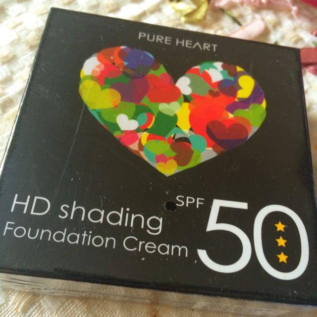 Pure heart極潤水淨白粉底霜SPF50+++