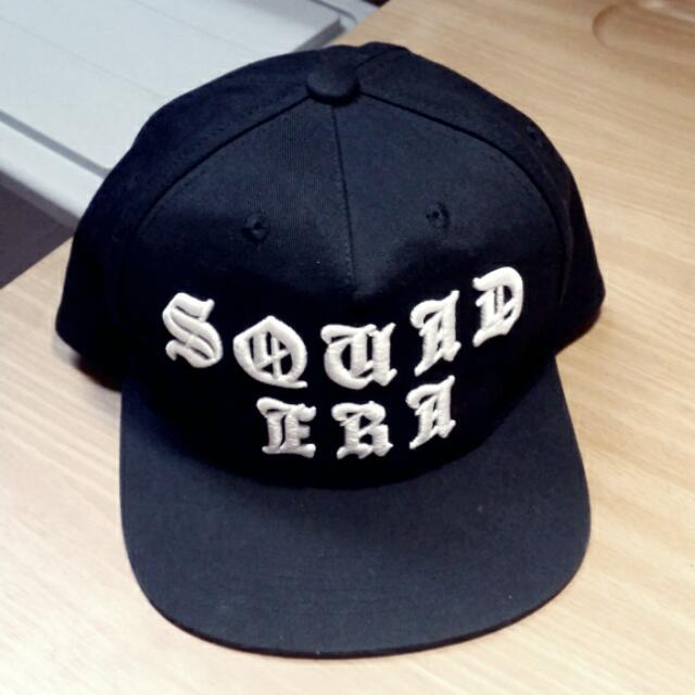 SQUAD 2014 A/W 黑暗歌德系立體電繡帽