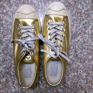 金色converse