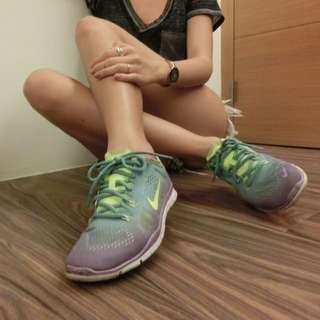 超美藍紫漸層Nike Free5.0