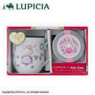 日本三麗鷗限定版kitty LUPICIA紅茶組